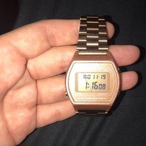Casio copper vintage digital watch